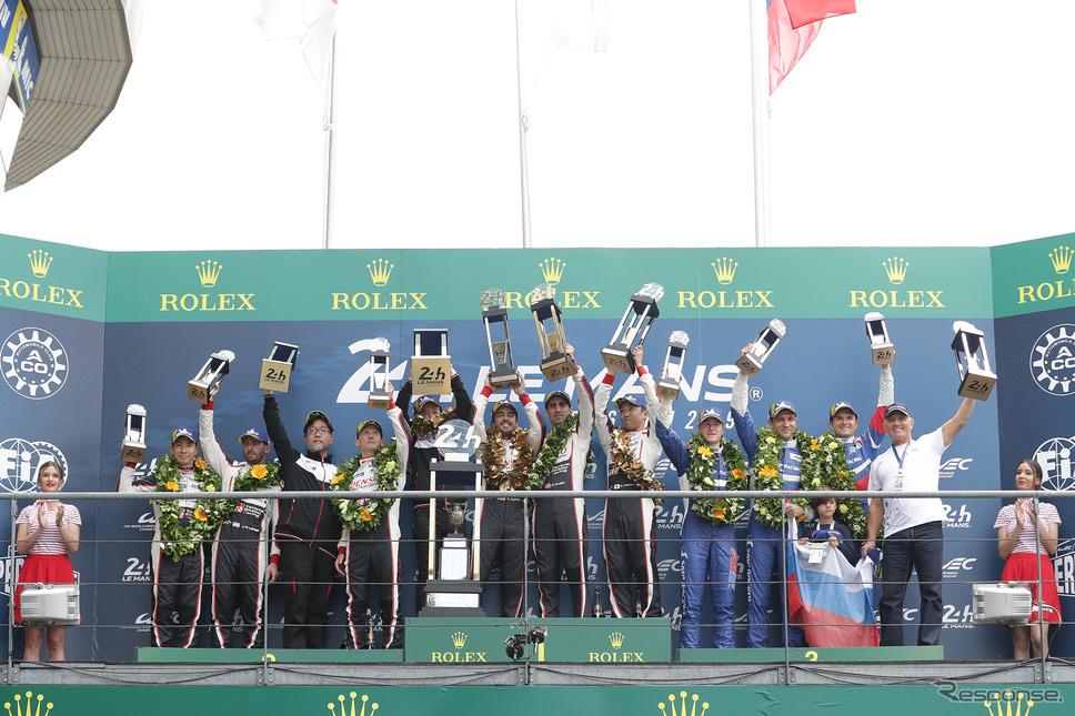 トヨタ、ルマン24時間レースで優勝