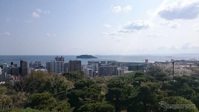 楽天と西友がドローンによる食材の敗走を始める、神奈川県の猿島。