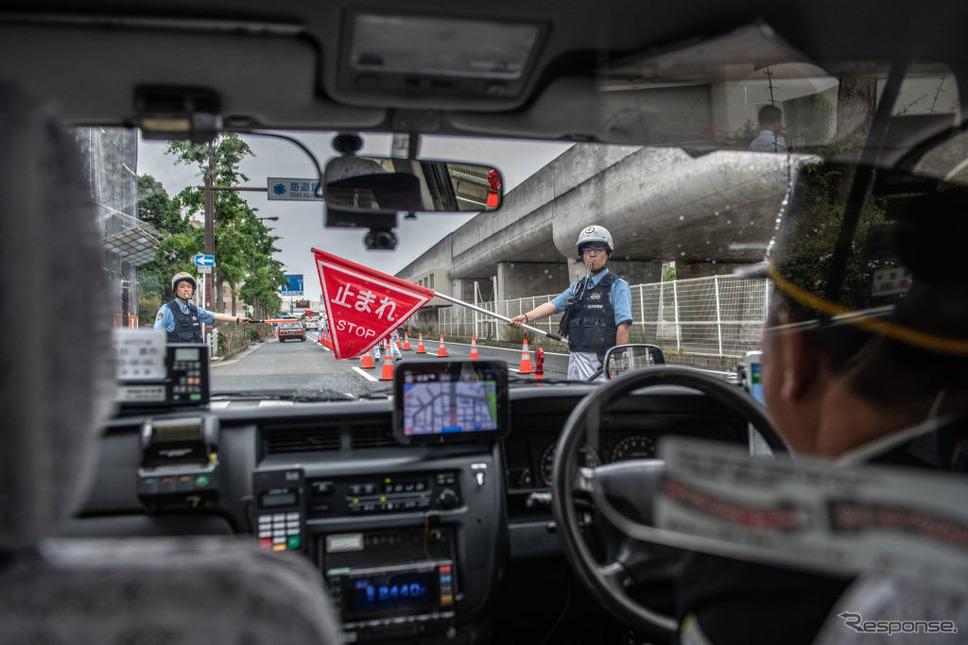大阪G20での交通規制(6月27日)