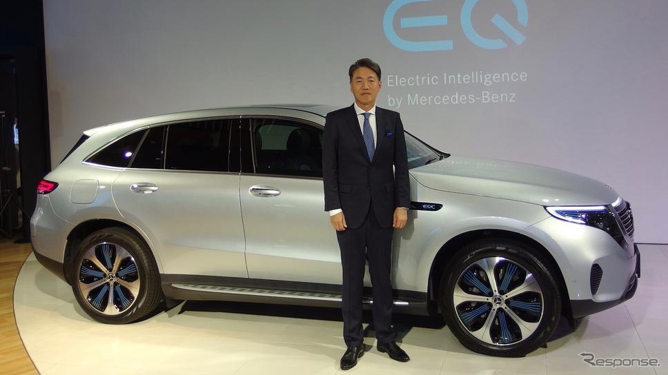 メルセデスベンツのEV、EQCとメルセデス・ベンツ日本の上野社長