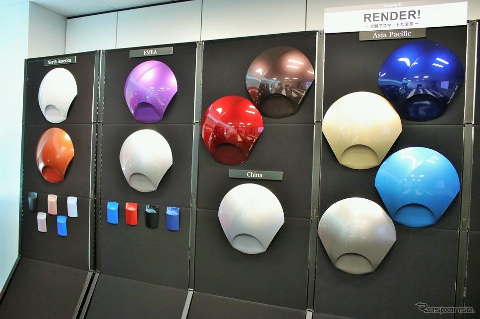 BASFカラートレンド2019-2020 ACT/9 RENDER!