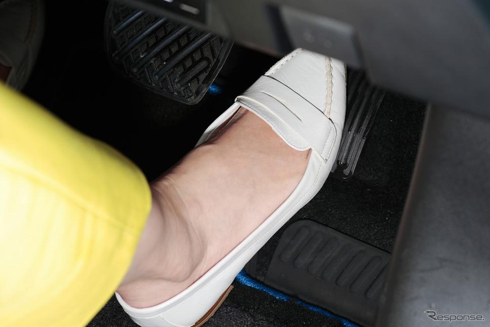 ワンペダルで加減速をコントロールできるe-pedal