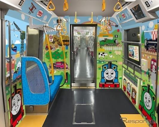 都営地下鉄大江戸線の「子育て応援スペース」