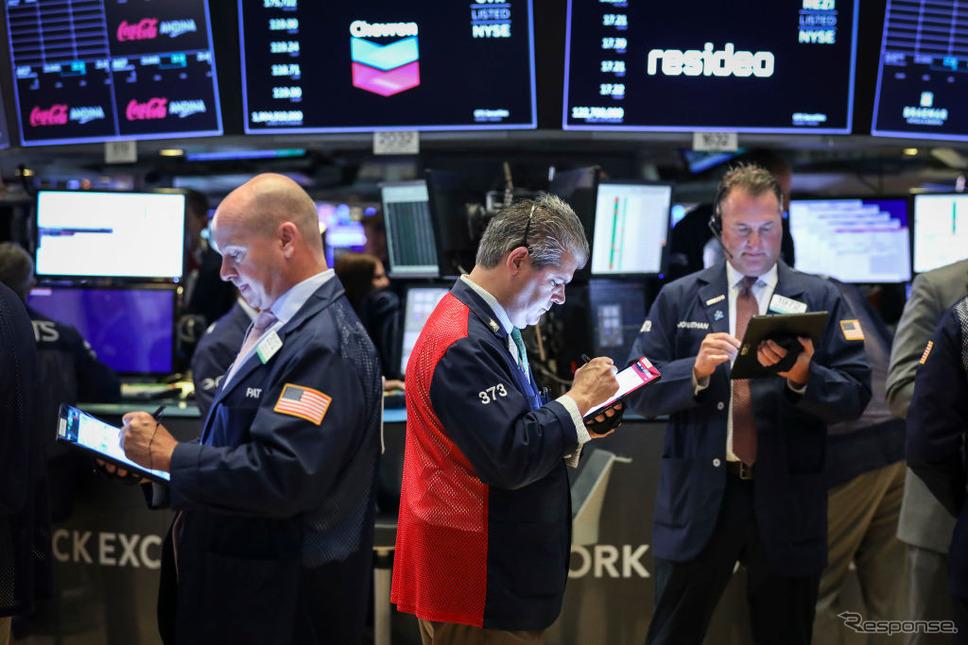 ニューヨーク証券市場(8月6日)