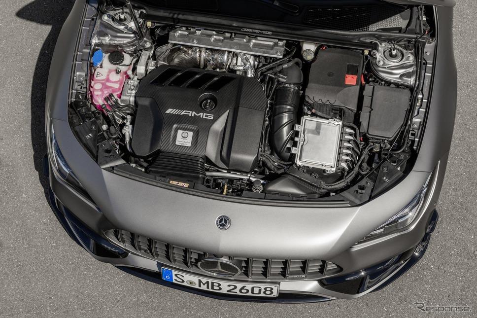 メルセデスAMG CLA45 S 4MATIC+ シューティングブレーク 新型