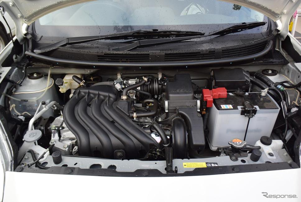 1.5リットルエンジン。性能は大したことはないが、軽量ボディに大排気量エンジンの組み合わせによるパンチ力は出ていた。