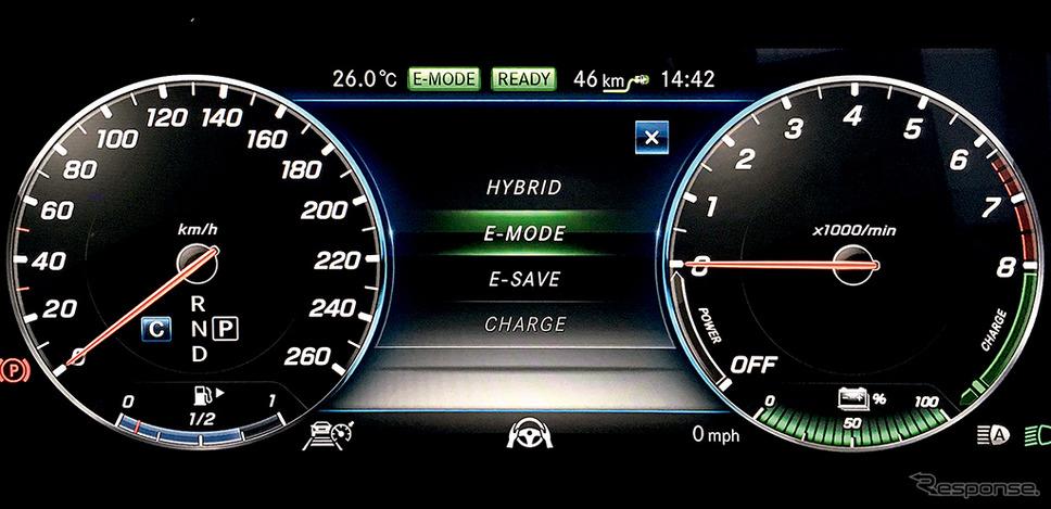 メルセデスベンツC350eアヴァンギャルド(E-モード)