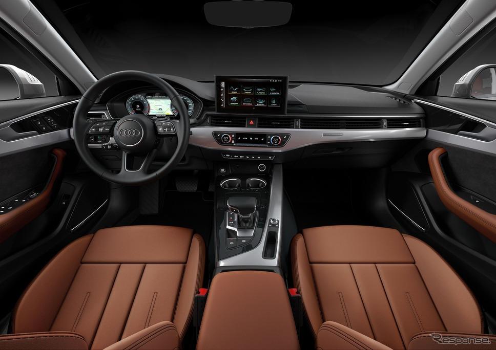 アウディ A4 セダン 改良新型