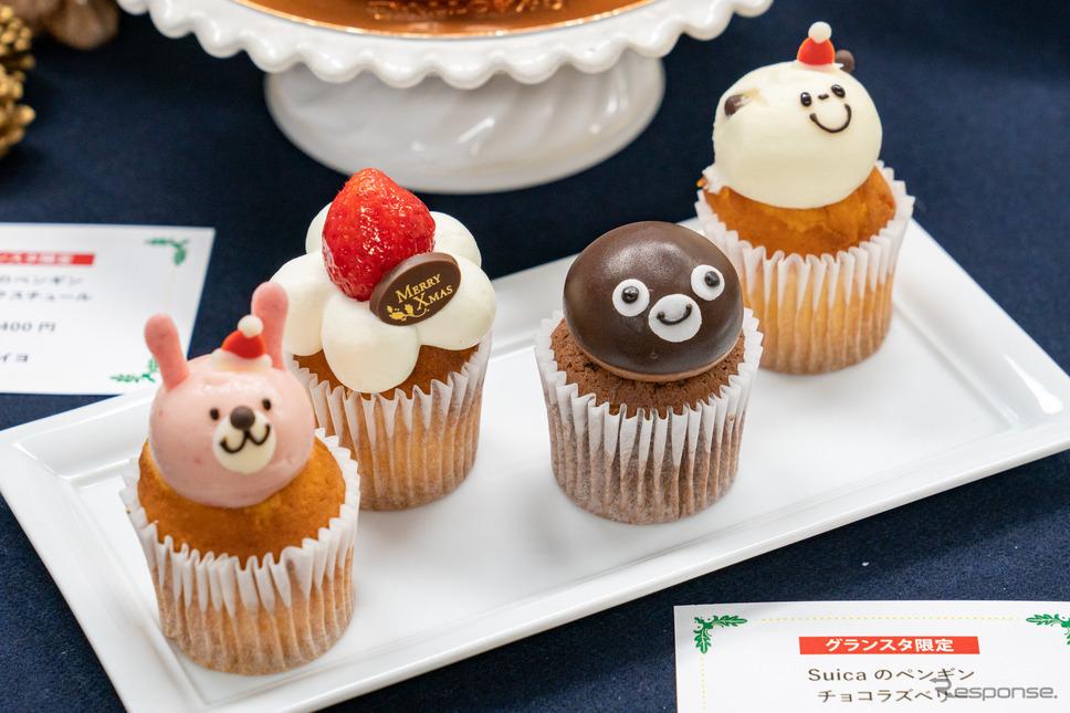 Suicaのペンギンチョコラズベリー / ショップ名:フェアリーケーキフェア / 価格:490円(税込み)※限定1日30個、グランスタ限定商品