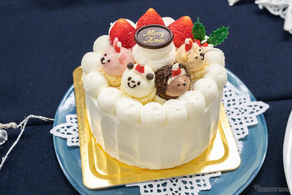 苺のショートケーキ ZOO / ショップ名:フェアリーケーキフェア / 価格:4100円(税込み)※限定100台、グランスタ限定商品