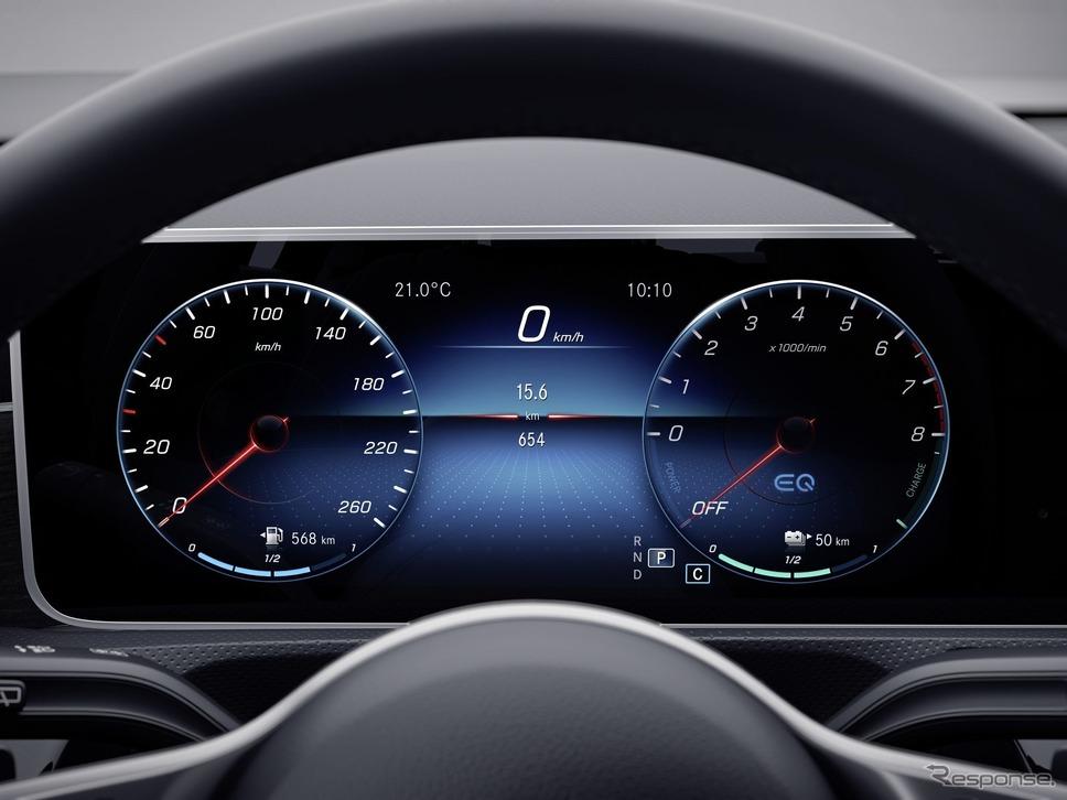 メルセデスベンツ Aクラス セダン 新型のPHV「A250e」