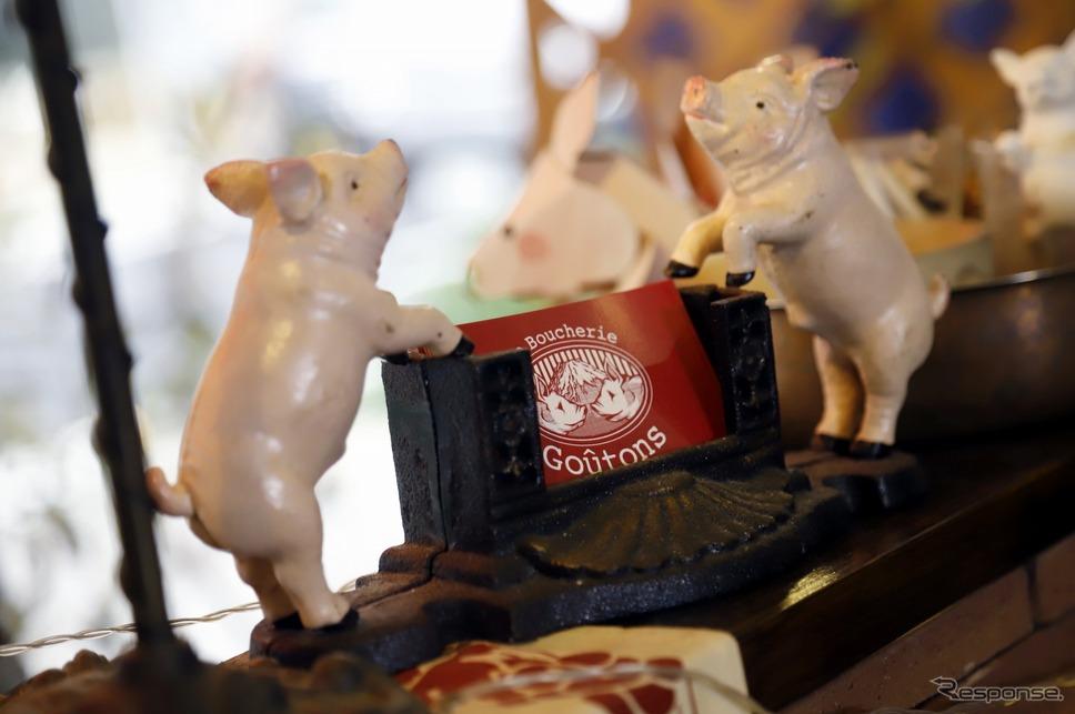 豚肉料理に力を入れるラブーシュリーグートン