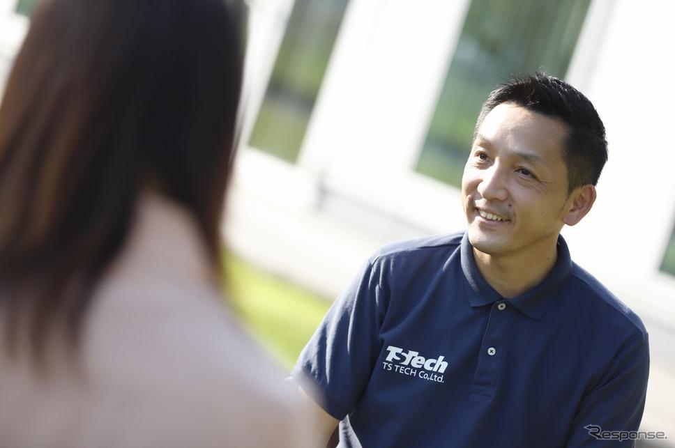 愛されるシートプロジェクトリーダーの郭裕之さん「世の中に技術を出すことによってアイデアを出してくれる人が現れる。」