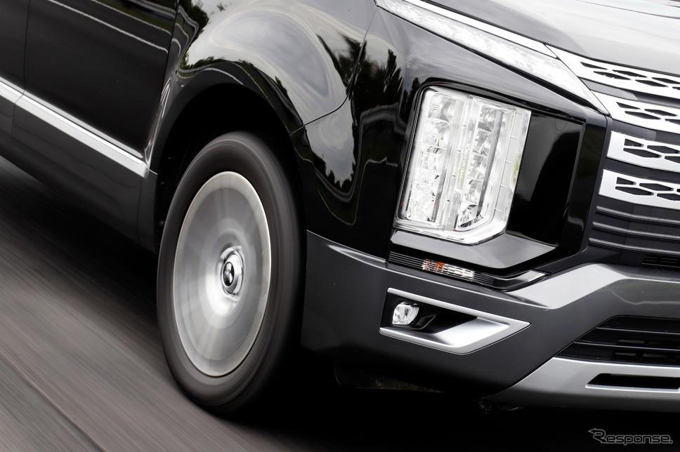 デリカD:5とMICHELIN CROSSCLIMATE SUV