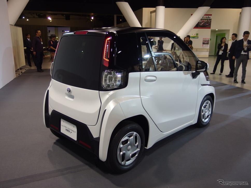 トヨタの超小型EV