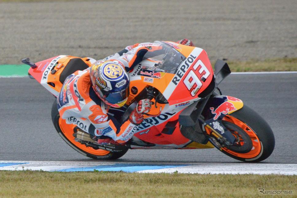 MotoGP 第16戦日本GP(フリー走行、予選)