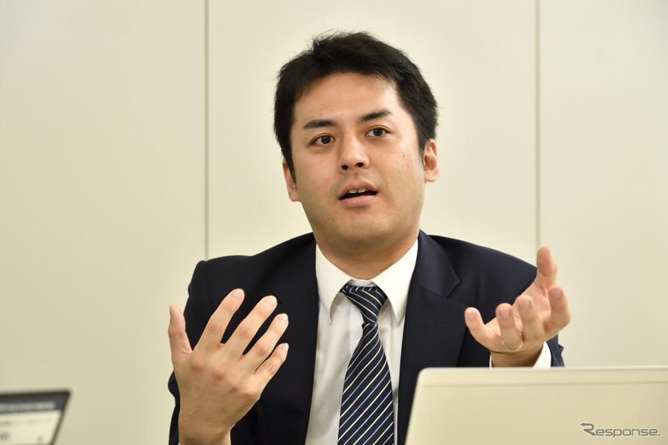 理経 新規事業推進室 XRソリューショングループ 田村貴紀さん
