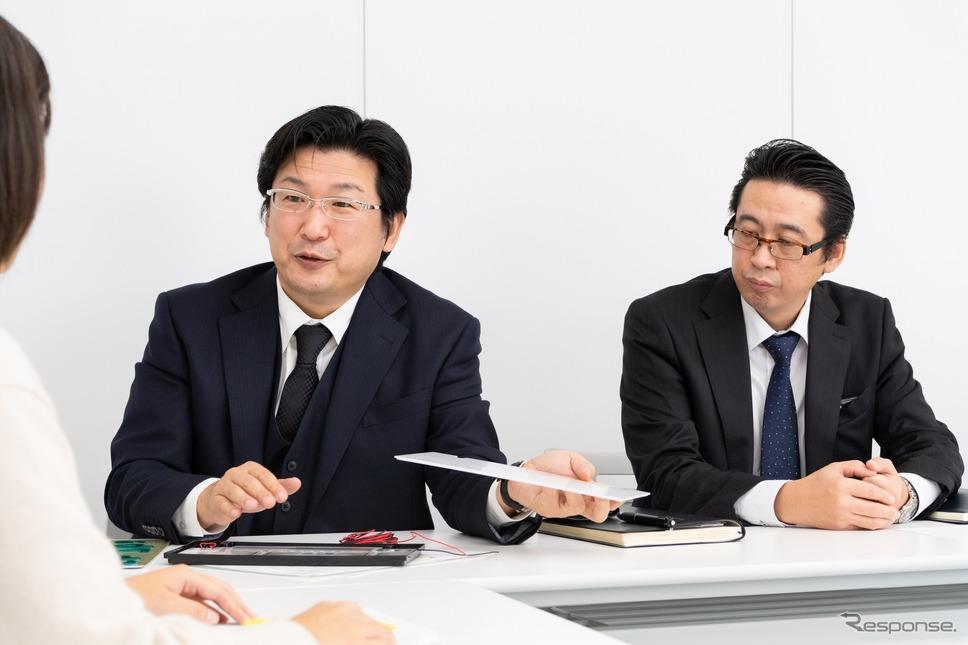 株式会社CGSの安田好伸さん(左)と森山守さん(左)