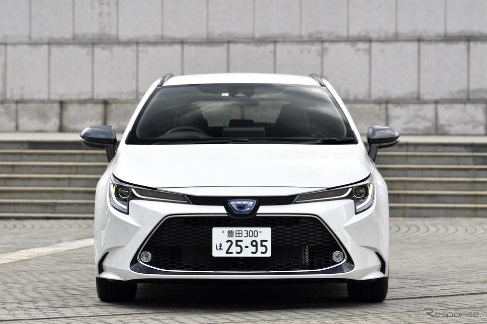 トヨタ カローラツーリング 新型(ハイブリッド)