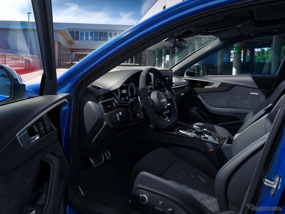 アウディ RS4 アバント のアニバーサリーパッケージ 25 イヤーズオブ RS