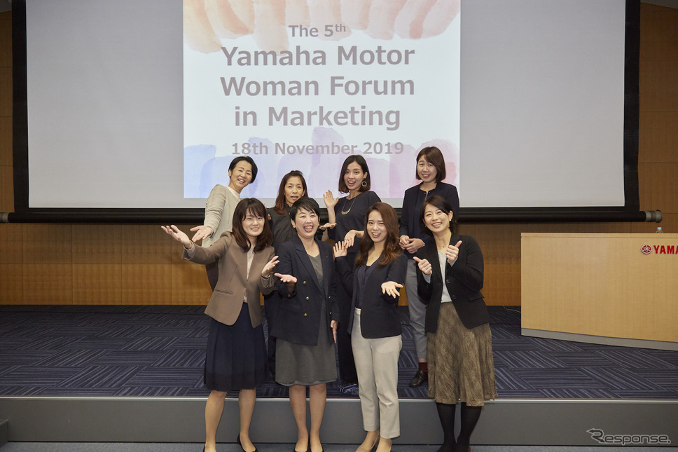 YAMAHA MOTOR WOMAN FORUM in Marketing