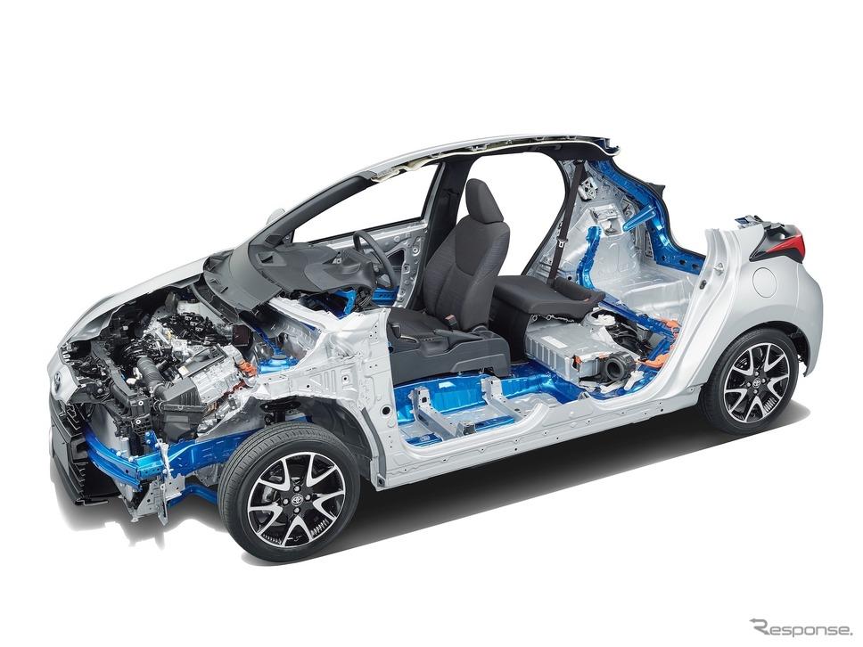 トヨタ・ヤリス新型のプラットフォーム