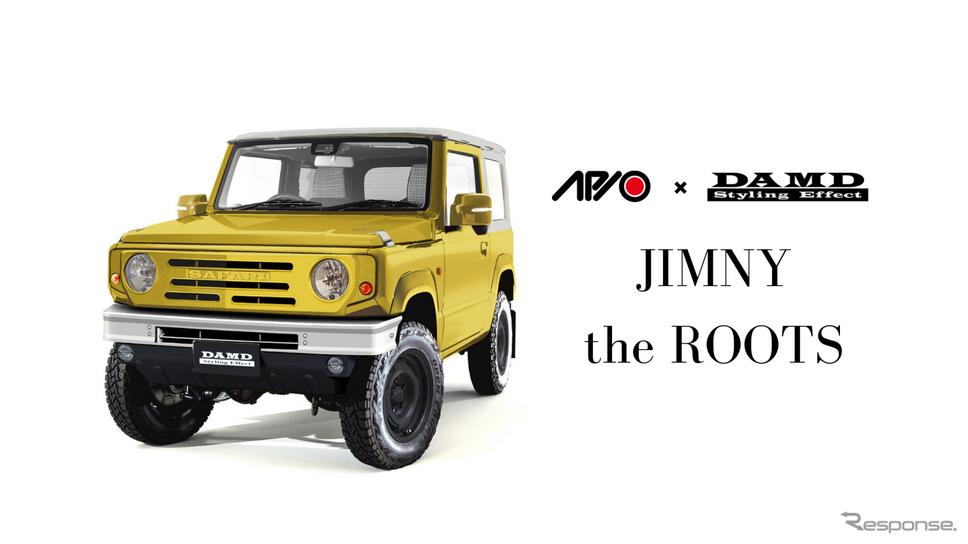 ダムド JIMNY the ROOTS