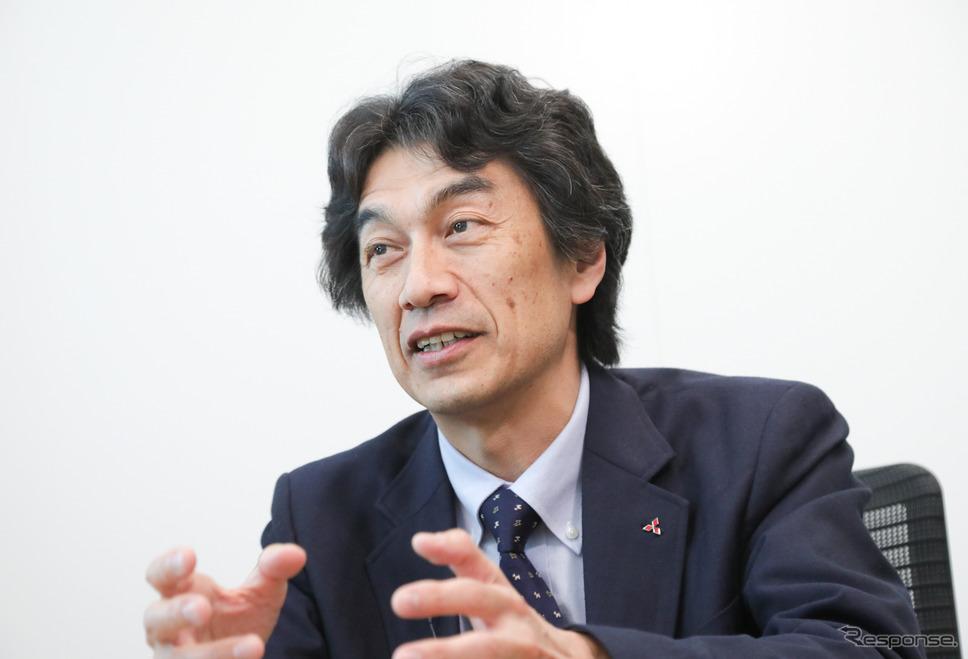 三菱自動車 澤瀬薫氏(EV・パワートレイン技術開発本部チーフテクノロジーエンジニア)