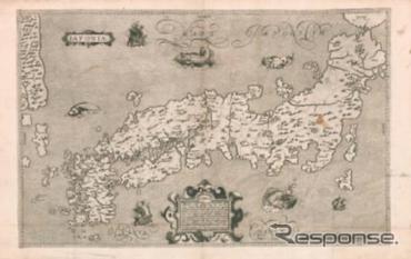 モレイラ 日本図