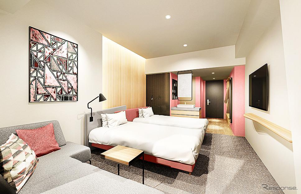 スーペリアフロア客室(スパリゾートハワイアンズ新ホテル カピリナタワー)