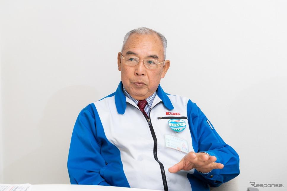 コイト運輸 代表取締役社長 佐野伊三夫氏