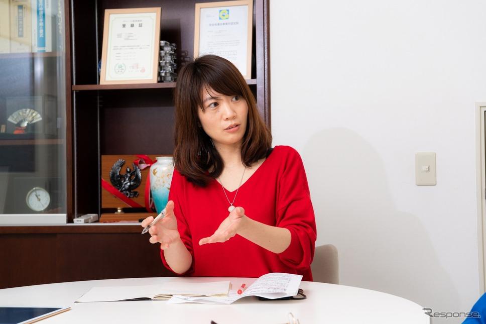 モビリティジャーナリスト 楠田悦子