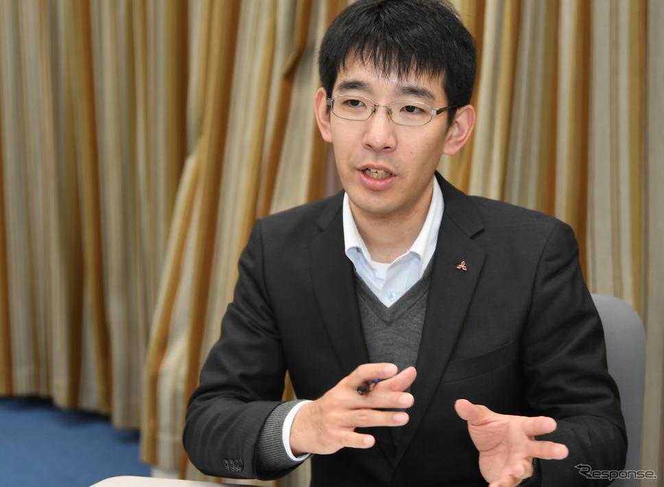 三菱自動車・商品戦略本部CPSチームの栗山剛志氏