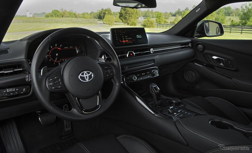 トヨタ GR スープラ の2021年モデル(米国仕様)
