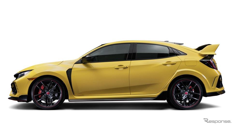 ホンダ・シビック・タイプR 改良新型のリミテッドエディション(北米仕様)