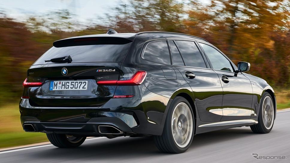 BMW 3シリーズ 新型の M340d xDriveツーリング