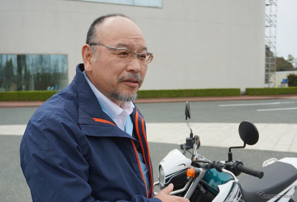ヤマハ発動機 AM事業部 原田豊二さん