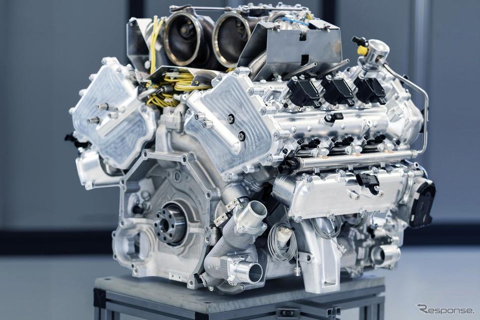 アストンマーティン・ヴァルハラ の新開発V6エンジン