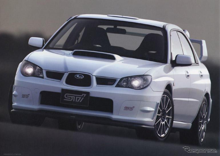 スバル インプレッサWRX STI