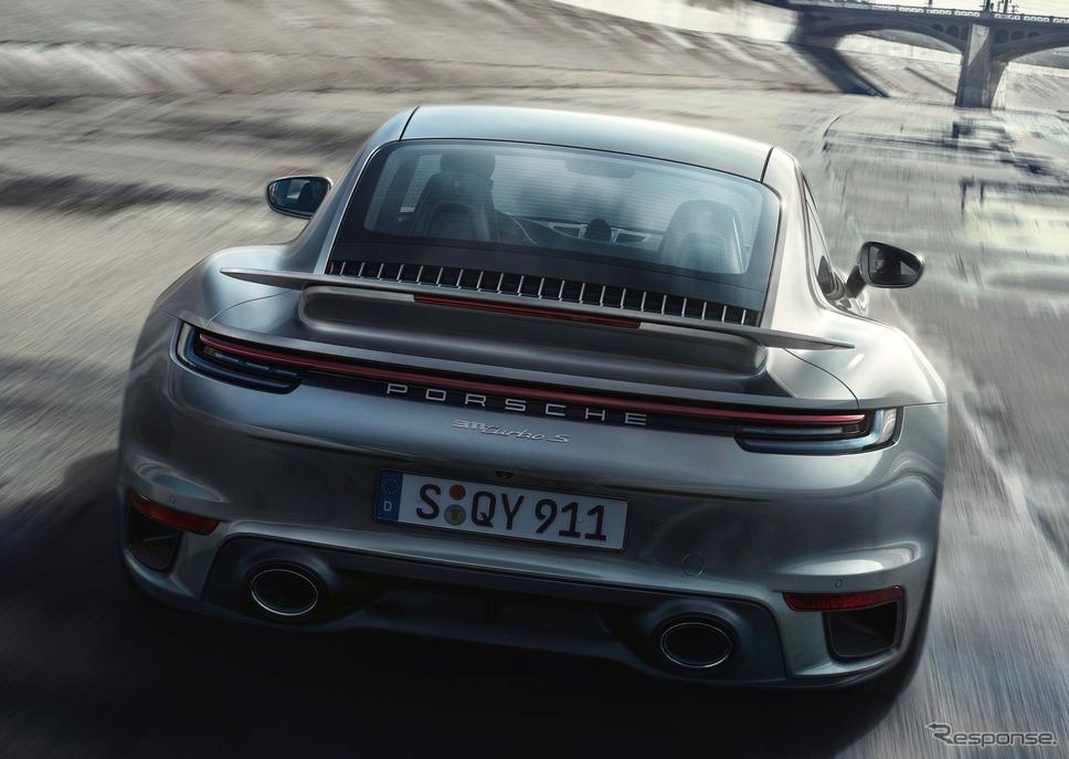ポルシェ 911 ターボ S 新型