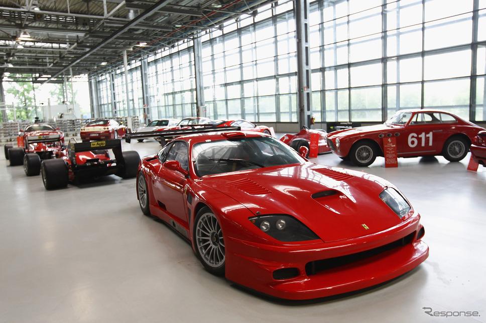 マラネロにあるフェラーリの工場の一部