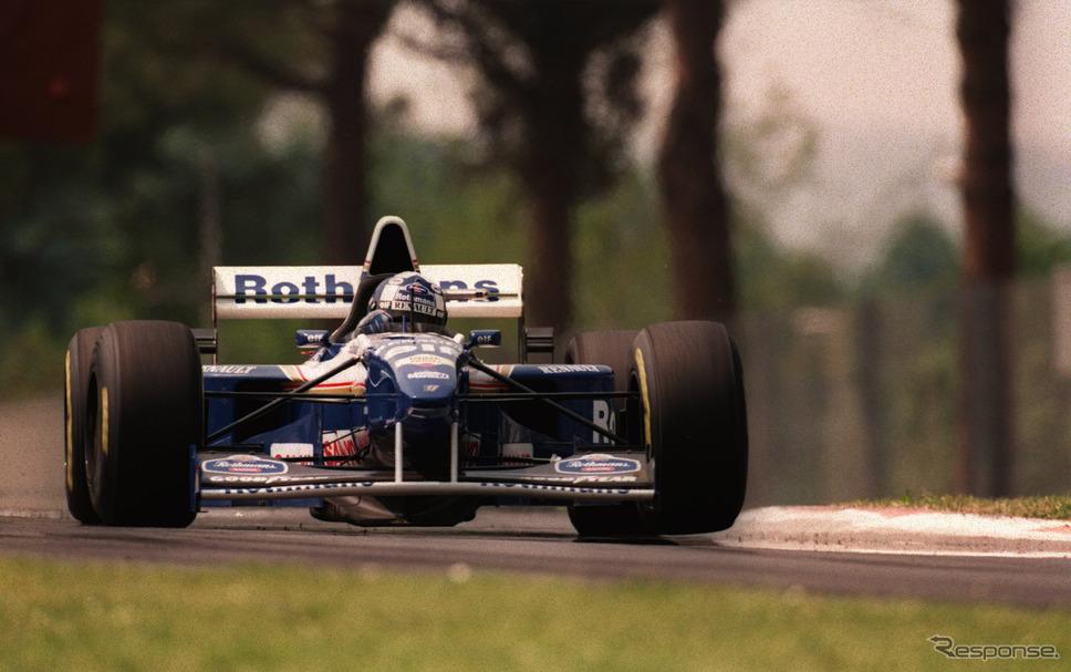 1995年 ロスマンズ・ウィリアムズ・ルノーで戦ったデビッド・クルサード