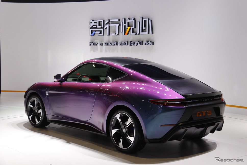 国机智駿(ZEDRIV)GT3(上海モーターショー2019)