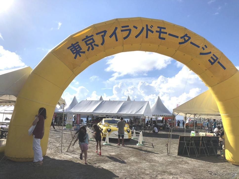 東京アイランドモーターショーの様子