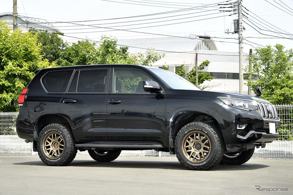 装着サイズ:18inx8J Inset+20 6H-139.7 カラー:ブロンズ(BR) タイヤサイズ:265/65R18