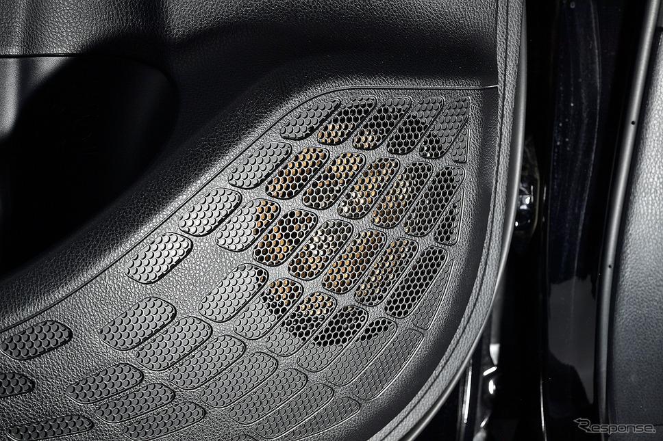 ハイレゾ対応のスピーカーに換えることによって車室内の心地良さが大きく変わる