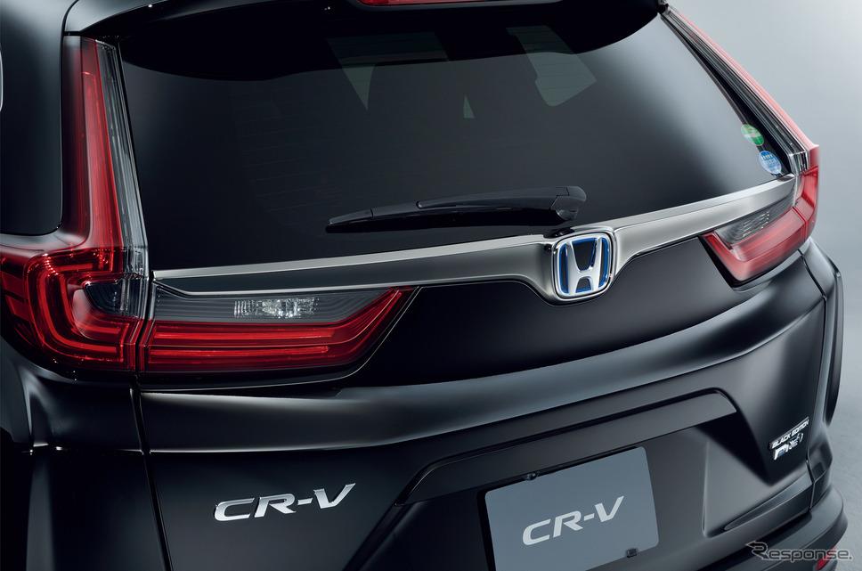 ホンダ CR-V ブラックエディション スモークタイプのLEDリアコンビネーションランプ