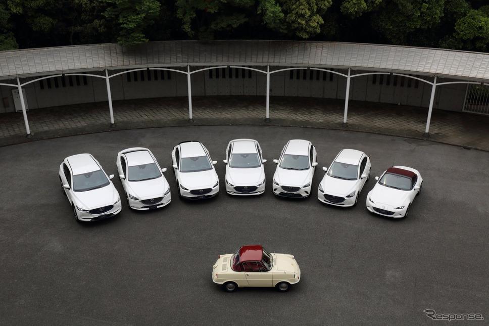 マツダ R360クーペ と 100周年特別記念車