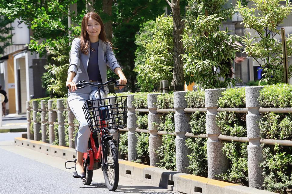 電動アシスト付き自転車での移動は移動の効率を高めてくれる