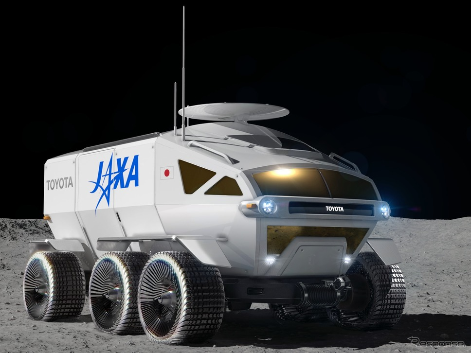 トヨタとJAXAが開発中の有人与圧ローバー